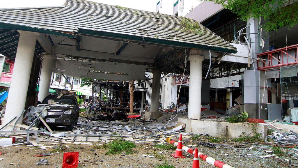 Ledakan Bom di Pattani Thailand, Korban Tewas Seorang Wanita Penjaga Toko