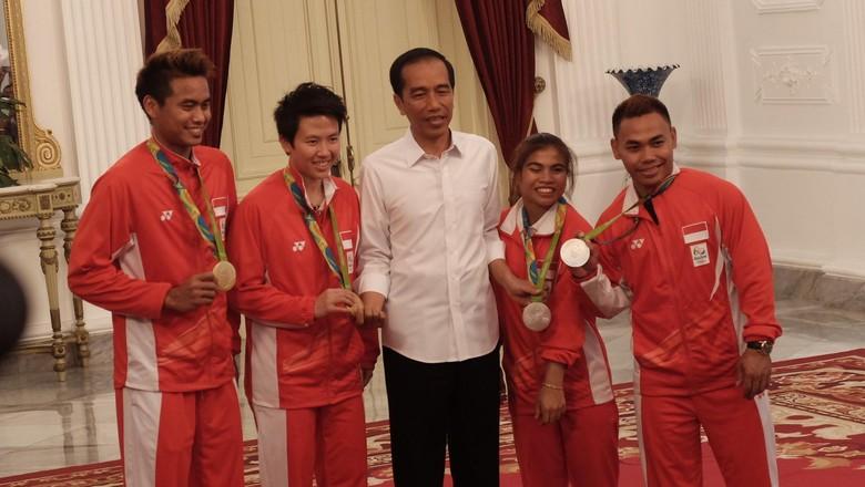 Jokowi: Raihan 1 Emas dan 2 Perak di Olimpiade Rio adalah Hasil Maksimal