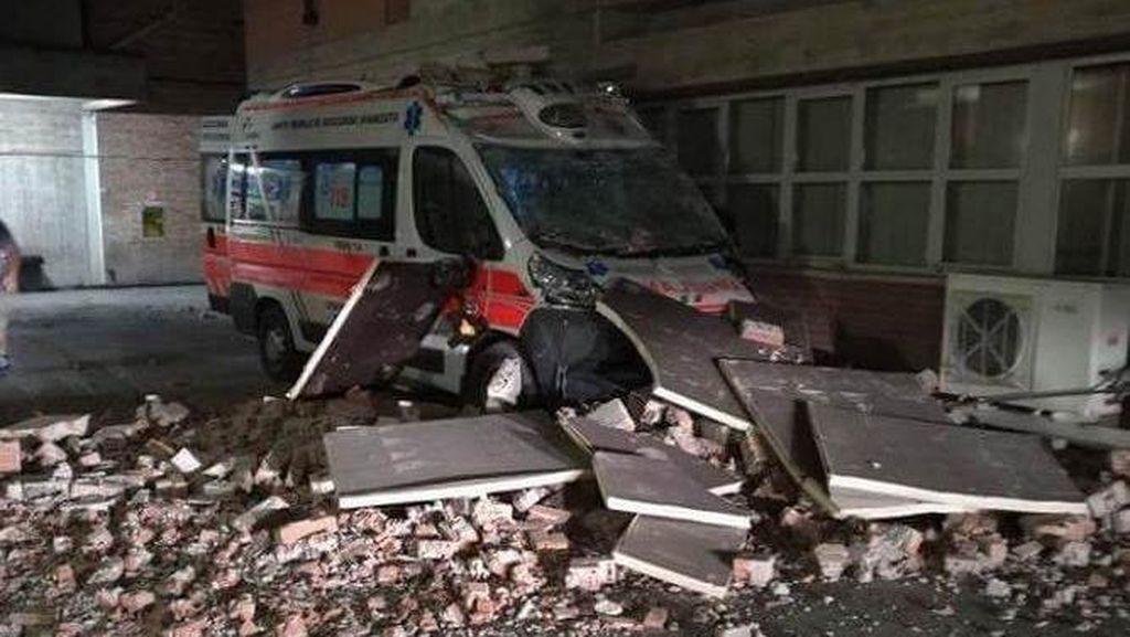 Italia Diguncang Gempa 6,2 SR, 6 Orang Tewas