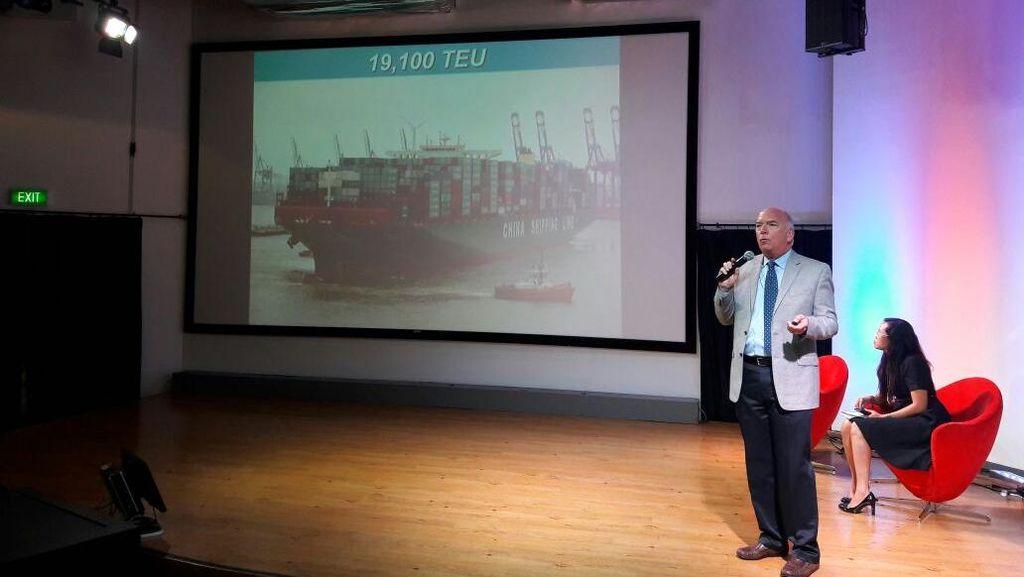 Cerita Operator Pelabuhan San Francisco di AS Tangani Peti Kemas dan Kapal