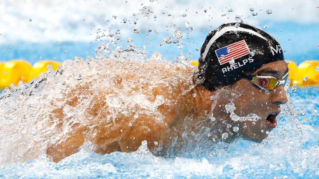 Lomba Renang Phelps vs Hiu, Siapa yang Menang?
