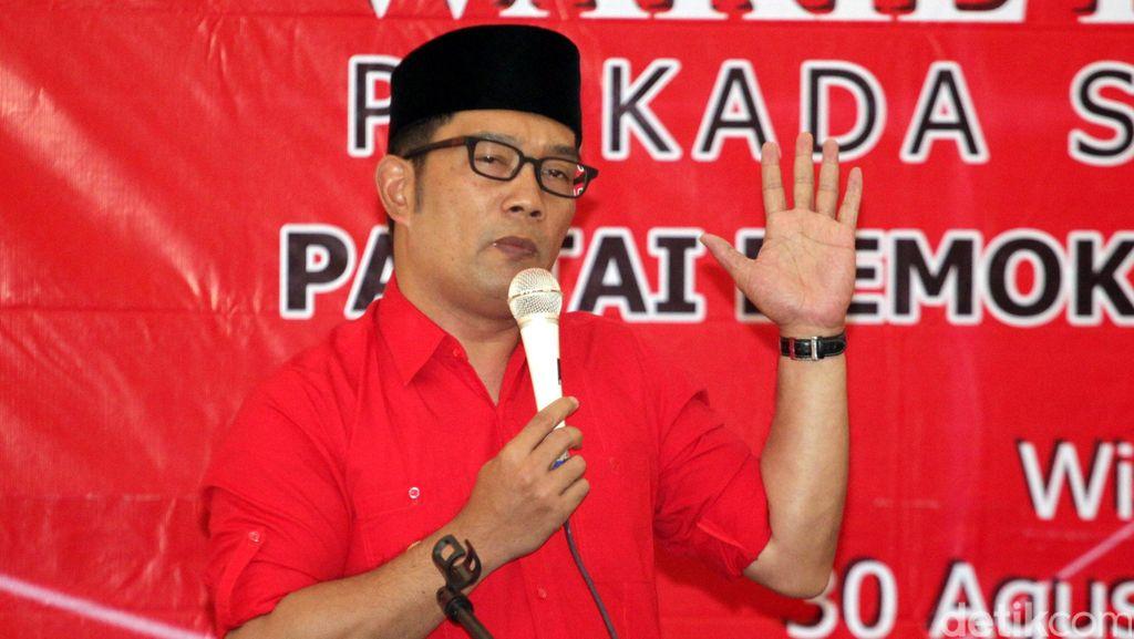 Pilgub Jabar 2018, Politikus PDIP: Ridwan Kamil Sudah Merapat
