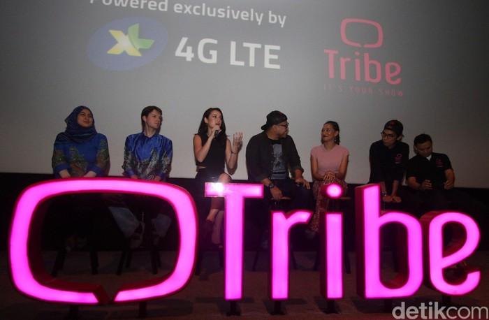 Hadir dalam pemutaran perdana film pendek itu antara lain artis Julie Estelle, sutradara Joko Anwar, dan Chief of Prepaid Bussines XL David Arcelus Oses.