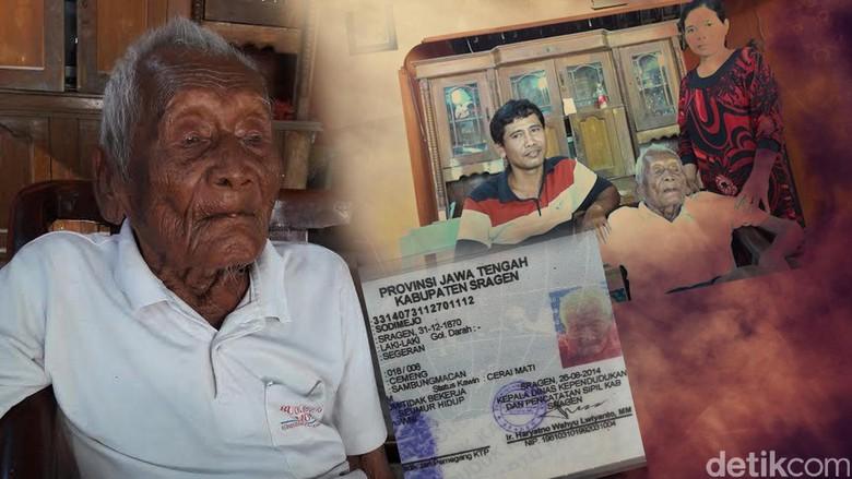 Jenazah Mbah Manusia Dimakamkan Besok - Sragen Sodimejo alias atau yang biasa dipanggil Mbah wafat hari ini wafat di rumahnya di Sragen dan akan