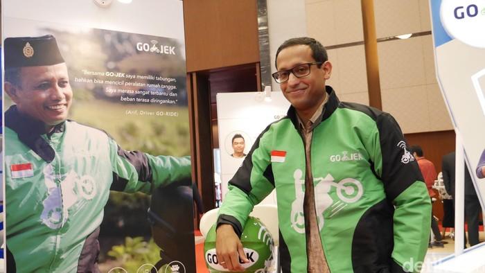 CEO Gojek Nadiem Makarim Foto: detikINET - Anggoro Suryo Jati