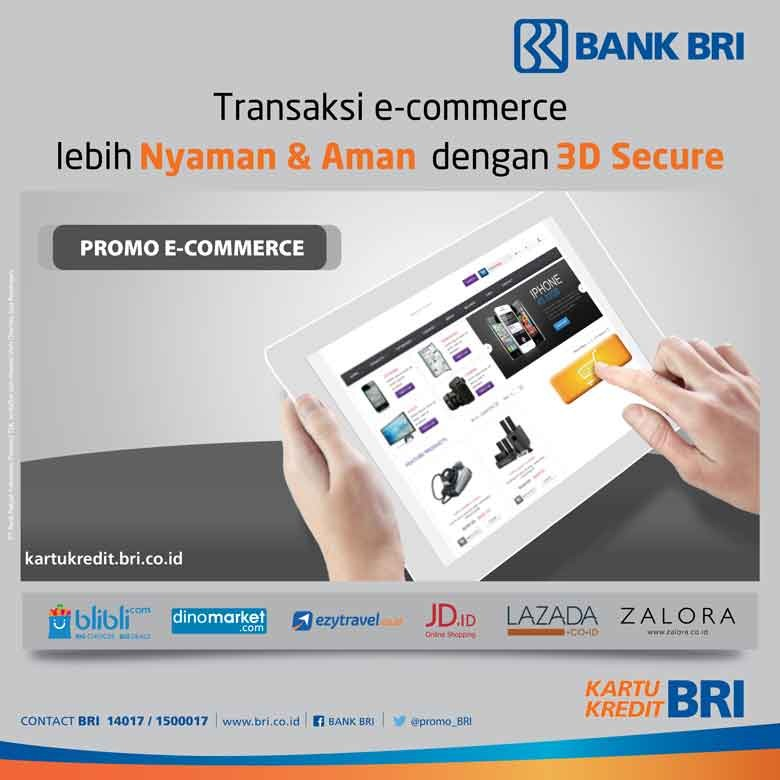 Transaksi E-Commerce Lebih Nyaman dan Aman dengan Kartu