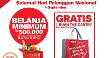 Spesial Hari Pelanggan Nasional di Transmart Carrefour