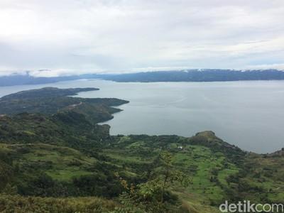 Danau Toba, Salah Satu Danau Vulkanik Terbesar di Dunia