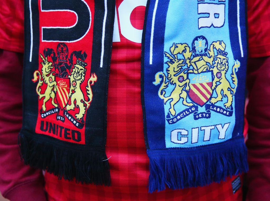 Pertandingan Adu Mental di Derby Manchester