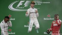 Rosberg Juara GP Italia