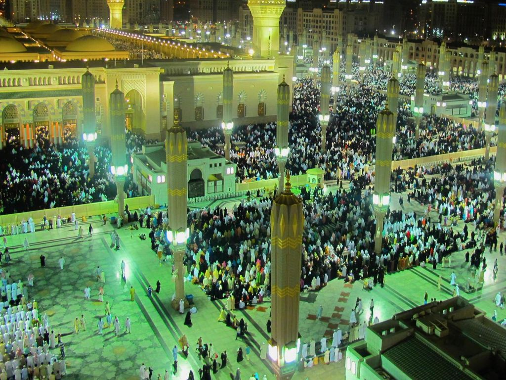 Foto: Potret Masjid Nabawi di Madinah (Pradikta Kusuma/dTraveler)
