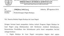 Pegiat Budaya Kirim Surat ke Jokowi, Pertanyakan Program ke Selandia Baru