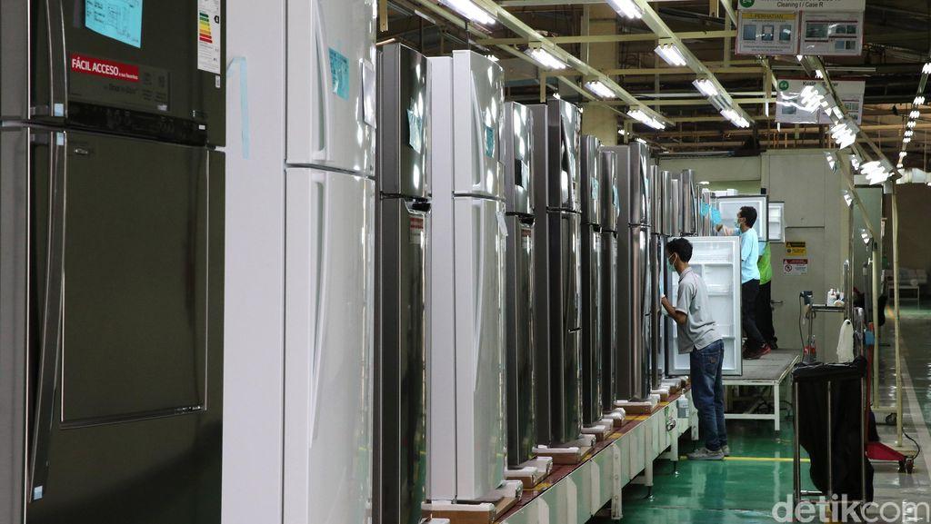 Di Tempat Ini Kulkas LG Diproduksi