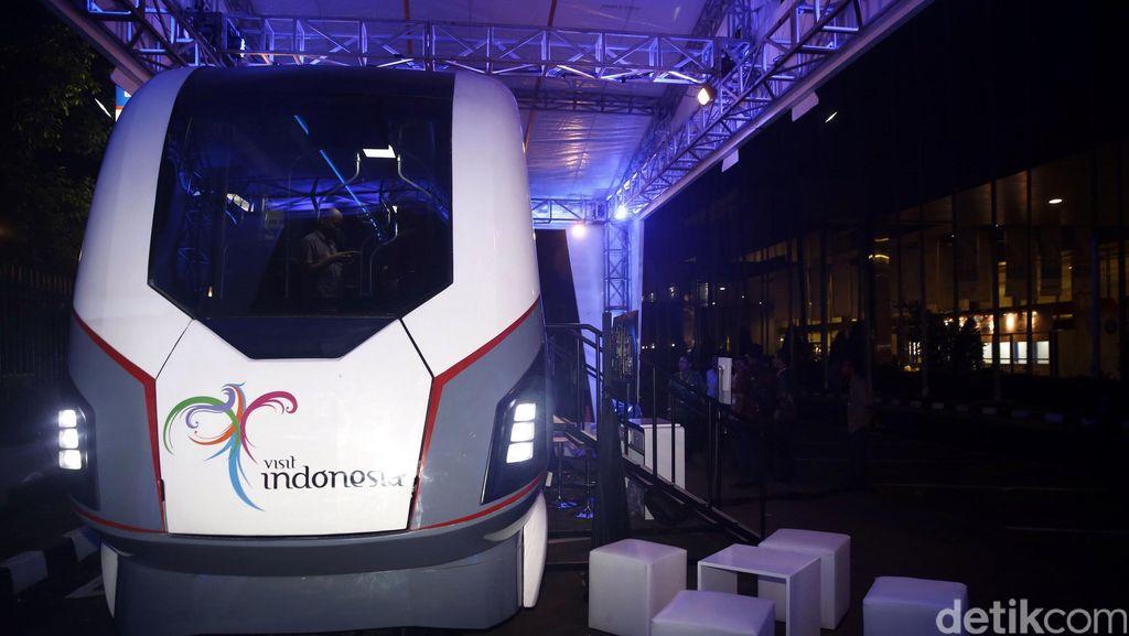 Pembangunan LRT Metro Kapsul Bandung Rp 1 Triliun Dimulai Maret