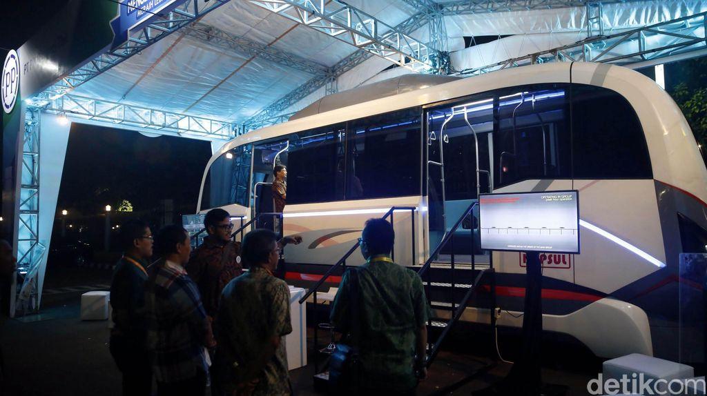 10 Unit Kereta Disiapkan untuk Metro Kapsul Bandung Rp 1 Triliun
