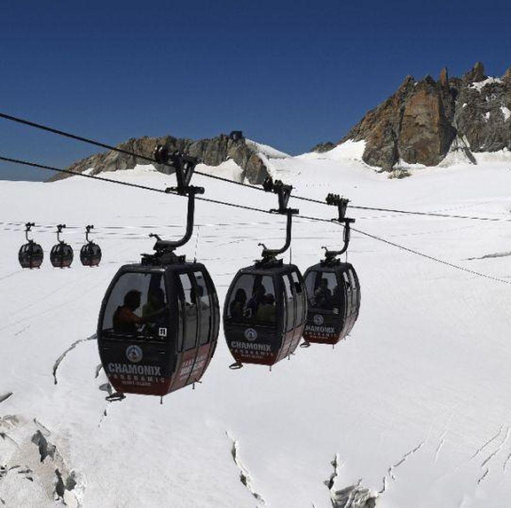 Dihantam Badai di Mont Blanc, Syahrie Koma Sepekan Sebelum Meninggal