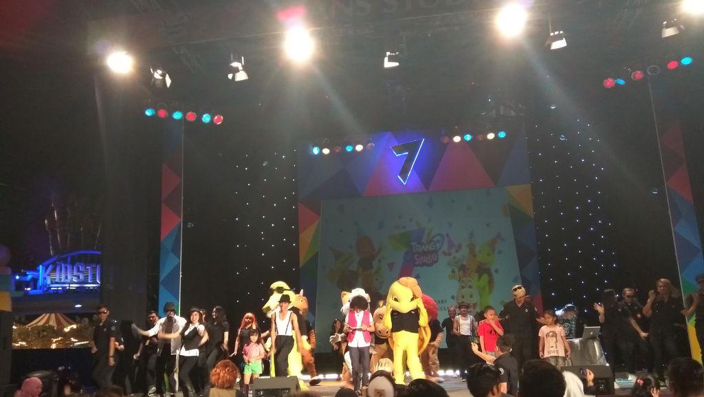 Rayakan HUT Ke-7, Trans Studio Makassar Gelar Wonderful Show Bertabur Bintang