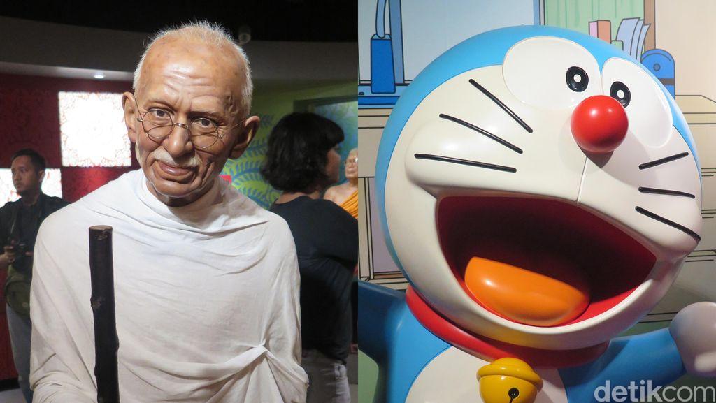 Mahatma Gandhi Sampai Doraemon di Madame Tussauds (2)