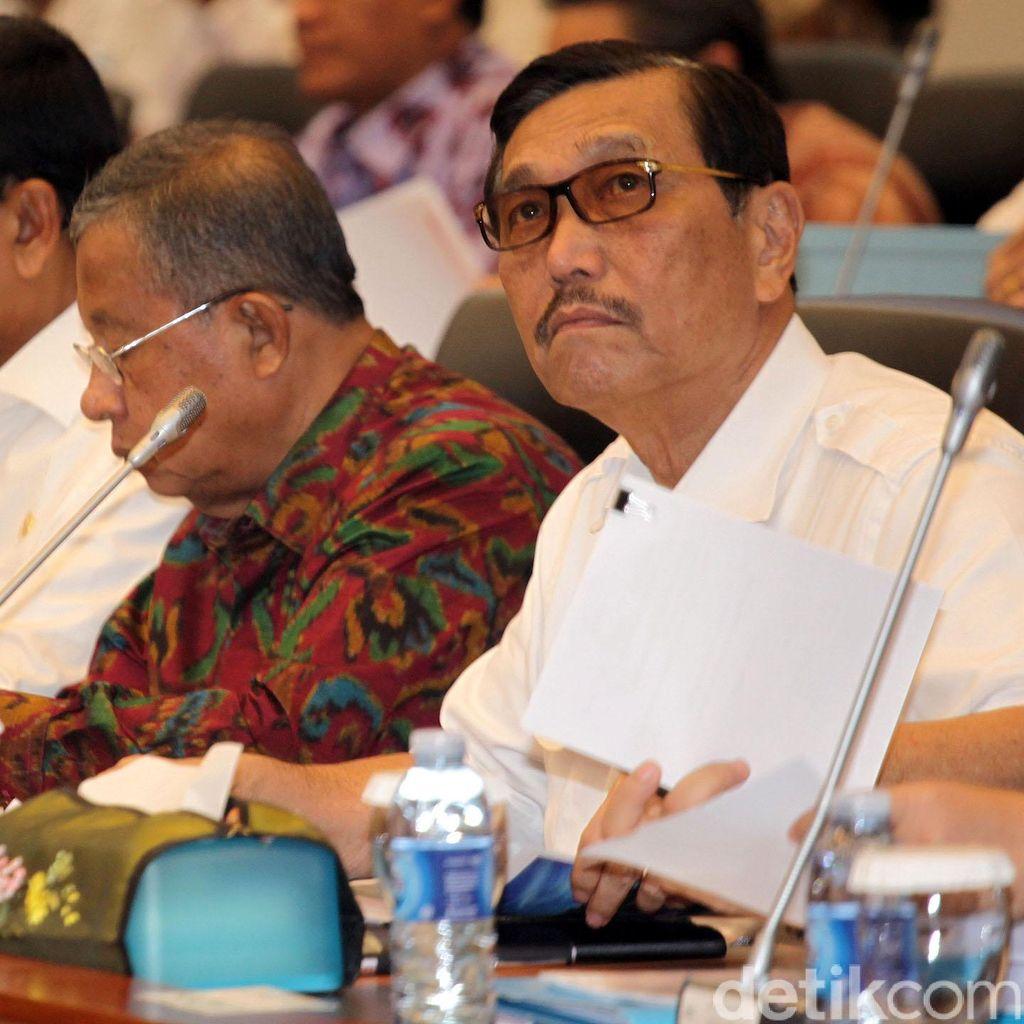 Curhat Gubernur ke Darmin dan Luhut Soal Pelabuhan Hingga Harga Gas