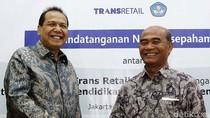 PT Trans Retail dan Kemdikbud Jalin Kerja Sama