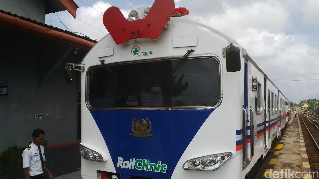 Rail Clinic Layani Pemeriksaan Kesehatan Gratis di Banyuwangi