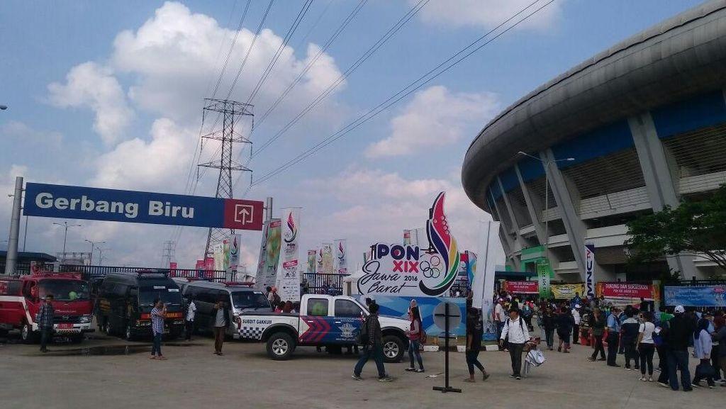 Pembukaan PON Jabar, Stadion GBLA Diamankan 2.535 Petugas