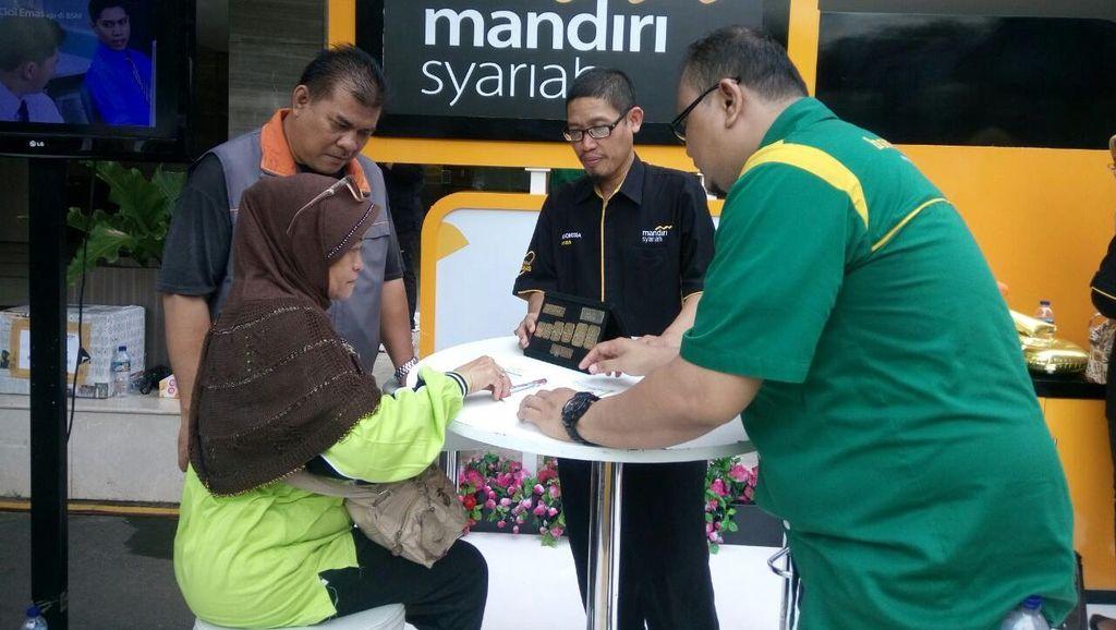 Gadan dan Cicil Emas Bank Syariah Mandiri Tembus Rp 2,1 T