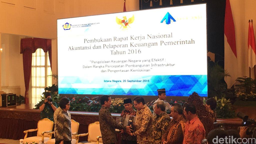 Jokowi Buka Rakernas Akuntansi dan Pelaporan Keuangan Pemerintah