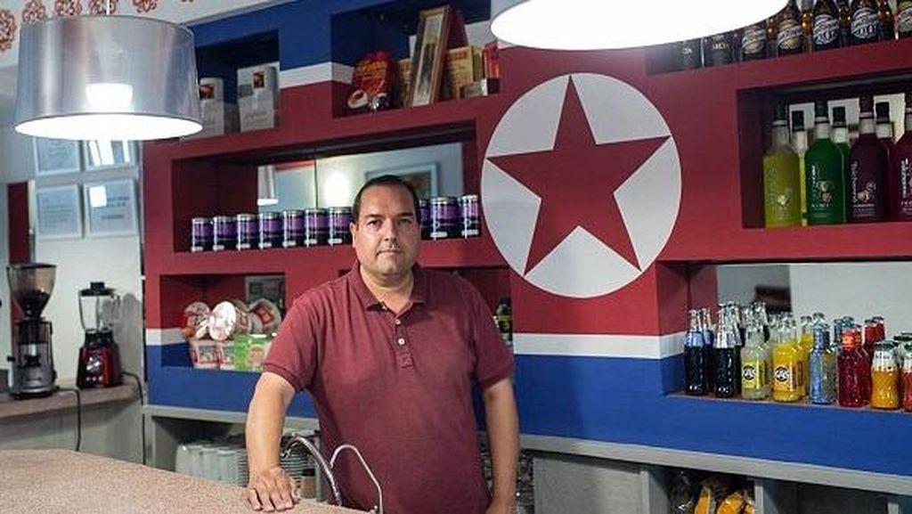 Ssst.. Ada Kafe Bertema Korea Utara, Tapi di Spanyol