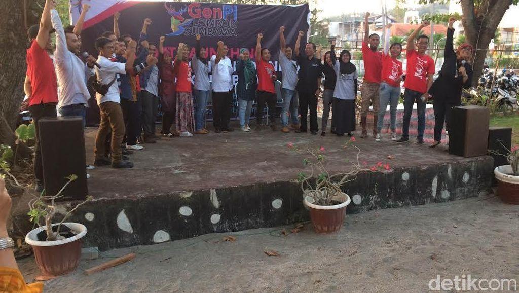 Komunitas Anak Muda Lombok Bersatu Sebarkan Promosi Wisata Lewat Go Digital