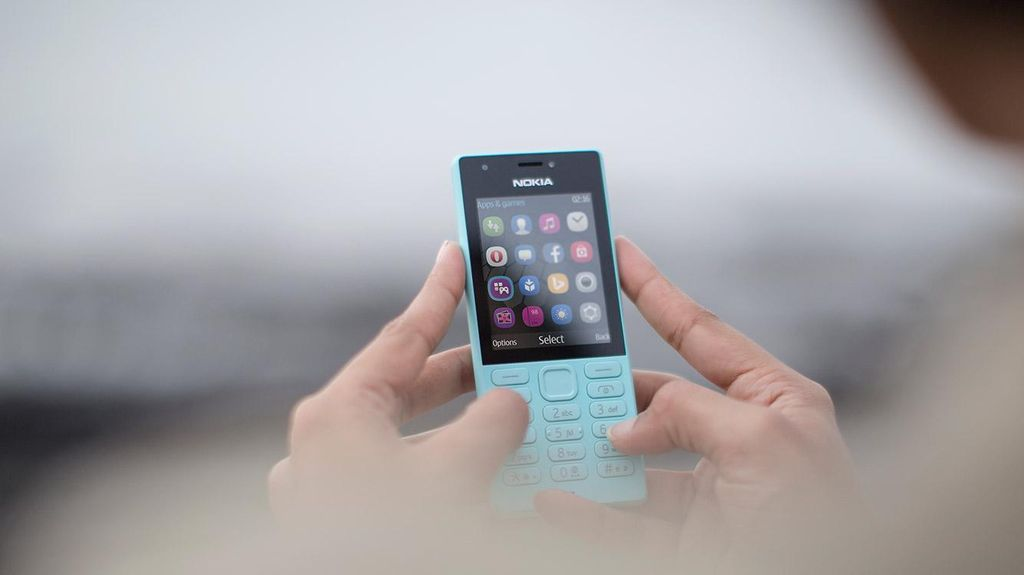 Nokia 216 Resmi Melenggang di Indonesia