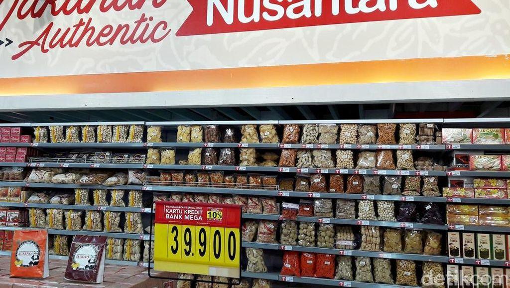 Promo Aneka Oleh-oleh Khas Kediri di Transmart Carrefour