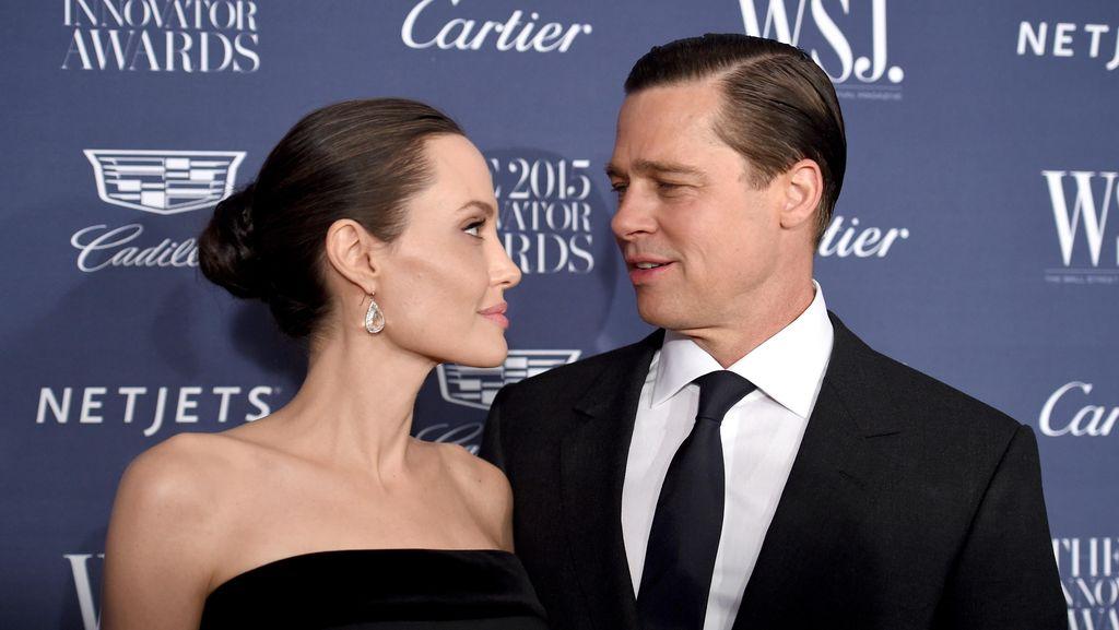 Hubungan Brad Pitt dan Angelina Jolie Membaik