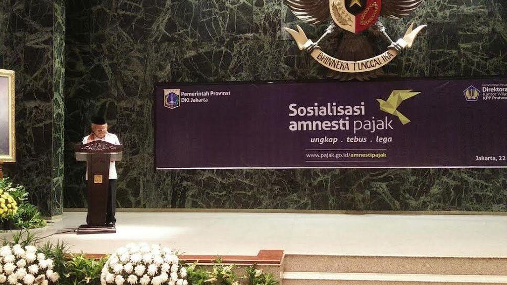 Giliran Kantor Ahok Dapat Sosialisasi Tax Amnesty