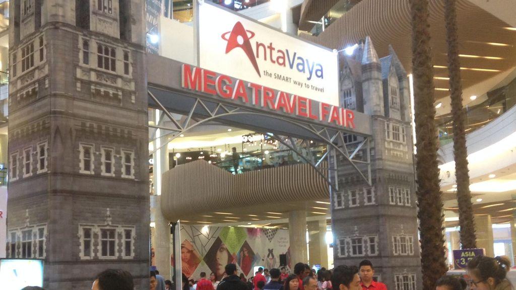 Antavaya Bidik Transkasi di Mega Travel Fair Rp 15 Miliar