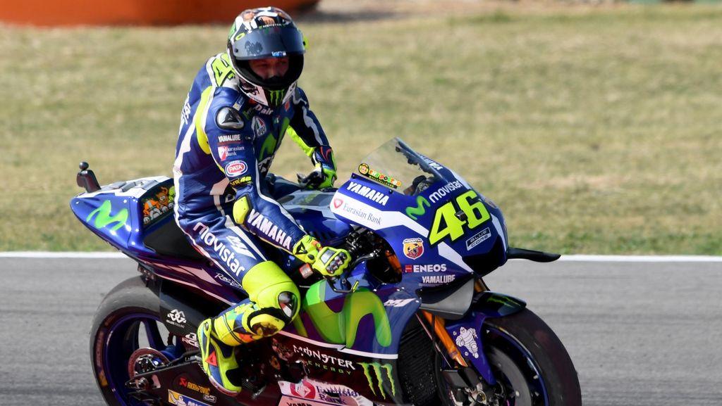 Tentang Rentetan Tanpa Kemenangan Yamaha dan Rossi yang Pantang Menyerah
