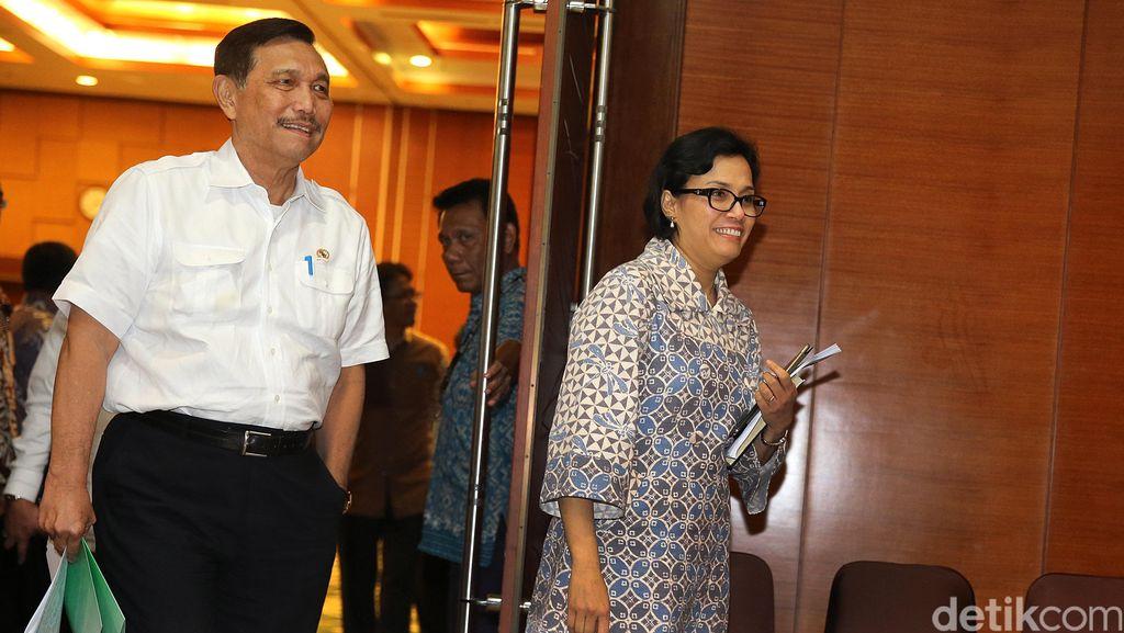 Sri Mulyani, Luhut dan BI Kumpul Bahas Rencana Pertemuan IMF-Bank Dunia