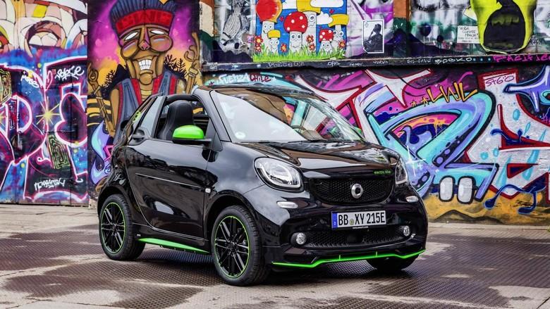 Mobil Mungil Smart Versi Bensin Tak Lagi Dijual di Amerika