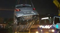 Toyota Agya Nyemplung ke Kali Epicentrum, Sopir Alami Luka Ringan