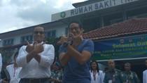 Anies Susul Sandiaga ke RSAL Mintohardjo untuk Tes Kesehatan