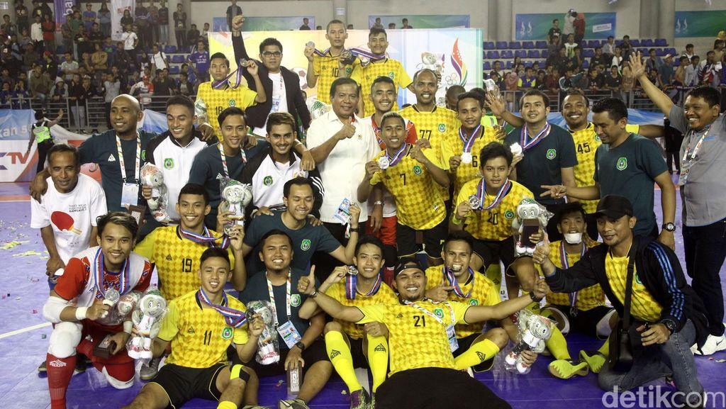 Maluku Utara Raih Medali Pertama dari Futsal