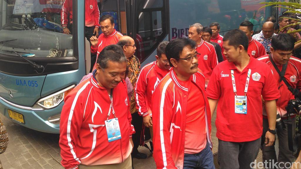 Datang ke Bandung, Wagub Djarot Beri Dukungan untuk Atlet DKI
