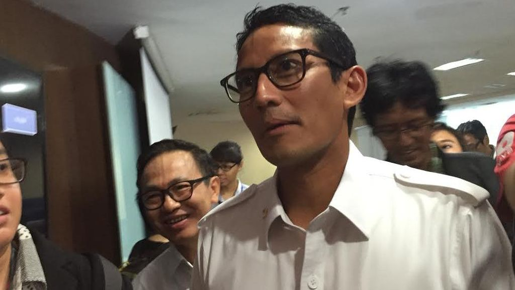 Sandiaga Uno: Saya Ajak Cagub dan Cawagub Dukung Tax Amnesty
