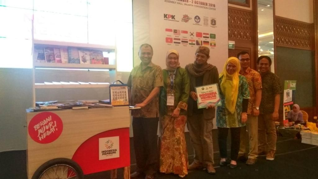 Indonesia Membumi, Cara KPK Sebarkan Semangat Antikorupsi Lewat Buku