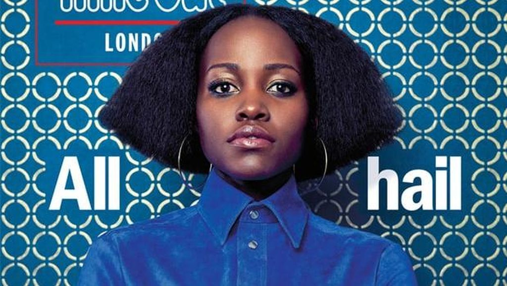 Penampilan Baru Lupita Nyongo dengan Rambut Bob