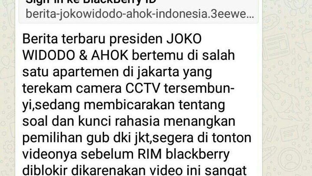 Akun BBM Wakil Ketua MPR Pun Kena Bajak