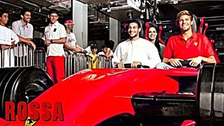Foto: Ferrari Rossa, roller coaster tercepat di dunia (ferrariworldabudhabi.com)
