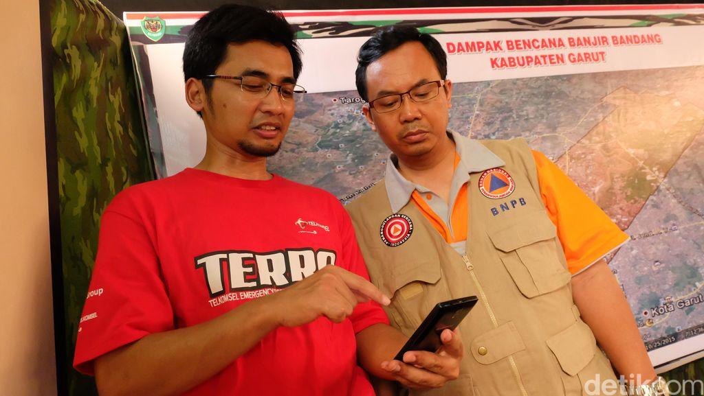 Evakuasi Korban Banjir Garut, Aplikasi Ini Jadi Andalan Relawan
