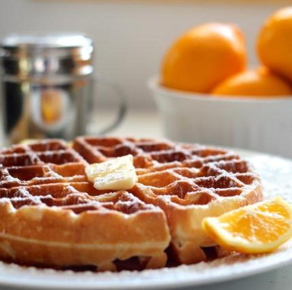 Agar Tak Membosankan, Sajikan Waffle dengan 8 Cara Kreatif Ini (1)
