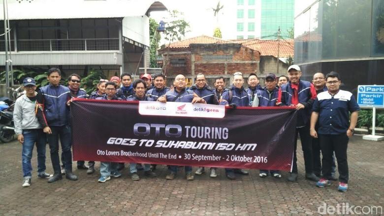 OTO Touring Goes to Sukabumi Dimulai